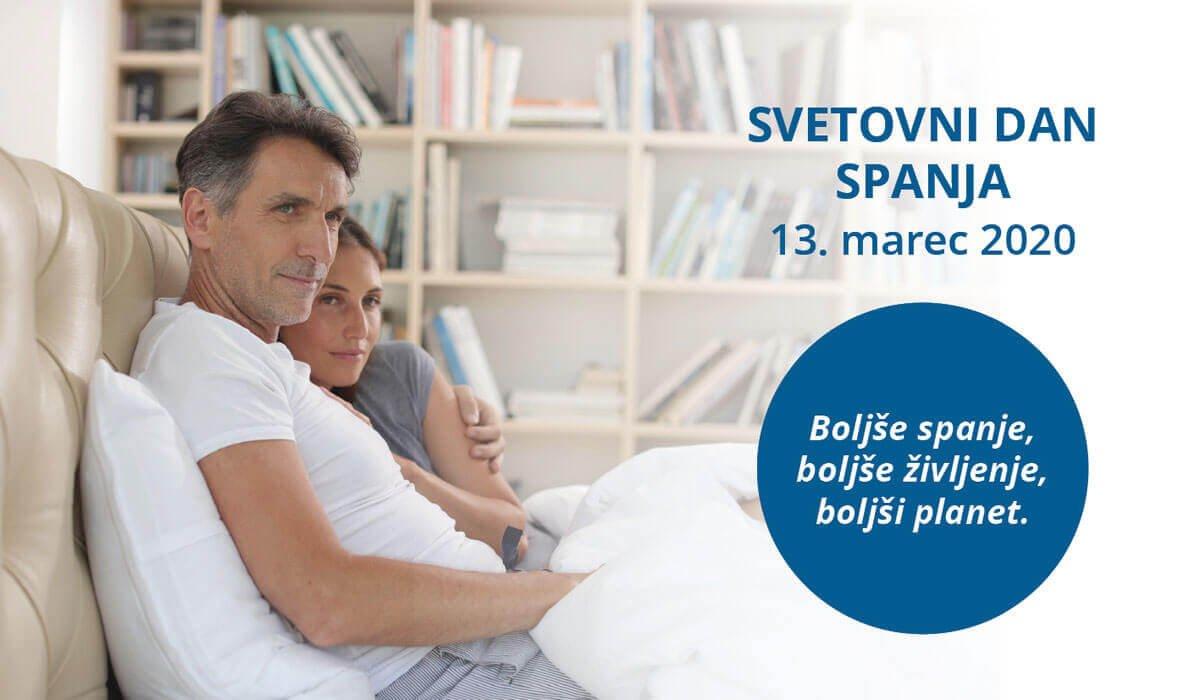 Svetovni dan spanja praznujemo letos 13. marca